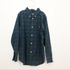 Ralph Lauren Children's Plaid Button Down Shirt